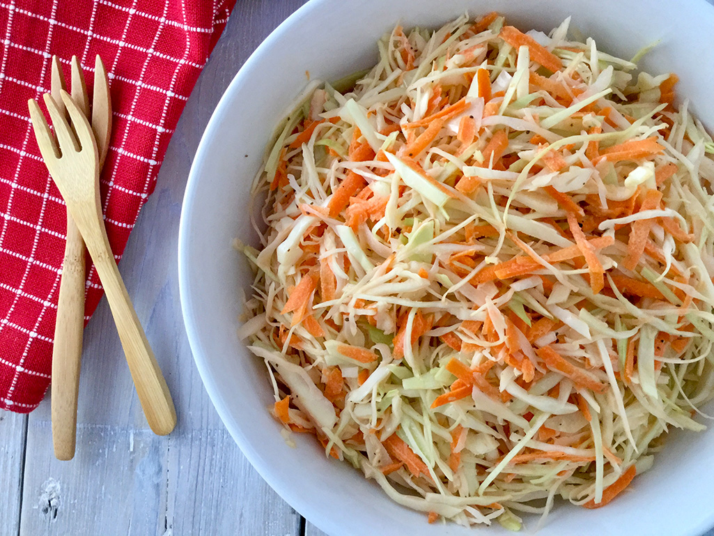 How to Make Barbecued Coleslaw