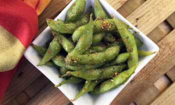 Edamame Beans with Japanese 7-Spice Blend