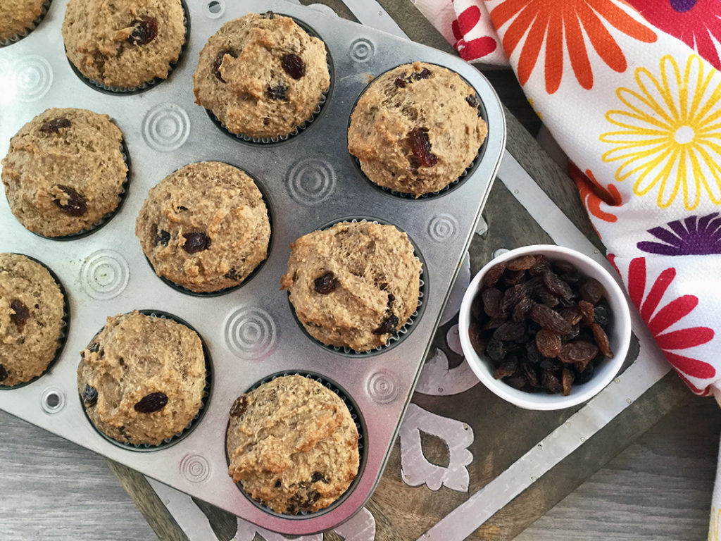 healthy muffins for kids