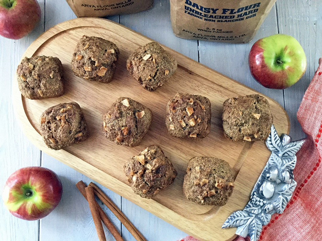 Apple Fritter Muffins Ingredients
