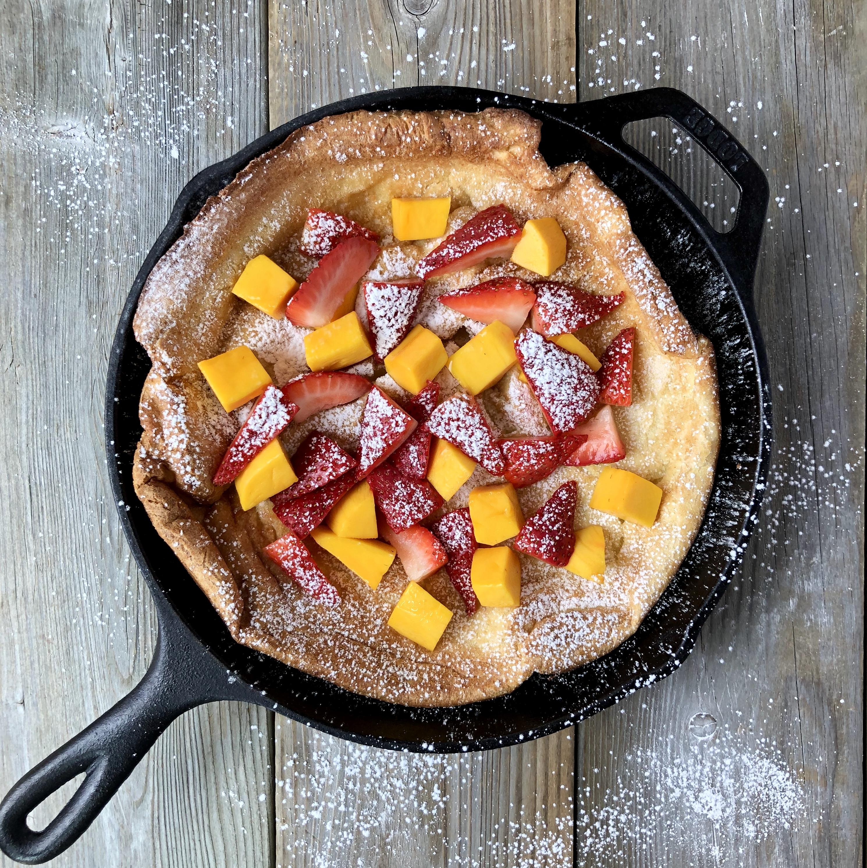 Dutch Baby Pancake 9 BEST SQ | The Kitchen Fairy